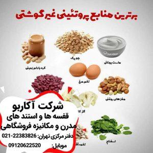 منابع پروتئینی غیر گوشتی