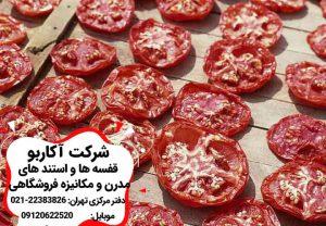 خواص گوجه فرنگی خشک شده